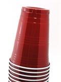 2 штабелированной чашки Стоковое Фото