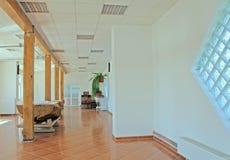 2 штендера залы деревянного Стоковые Фото
