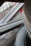 2 эскалатора Стоковые Фотографии RF