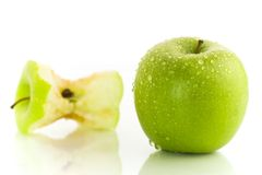 2 яблока Стоковое Изображение RF