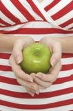 2 яблоко - зеленый цвет Стоковые Фотографии RF