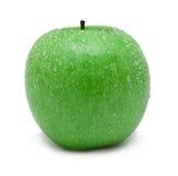 2 яблоко - зеленый цвет Стоковые Фото