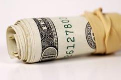 2货币卷 库存照片