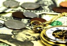 2货币时间 免版税库存图片