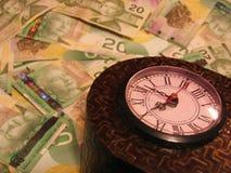 2货币时间 免版税库存照片
