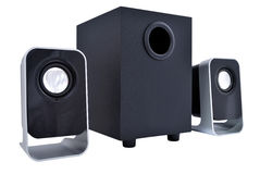 2.1 computer speakers Royalty Free Stock Photos
