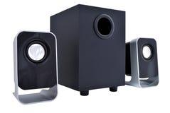 2.1 haut-parleurs d'ordinateur Photos libres de droits