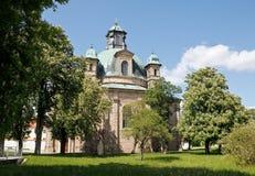 2 1005年教会freystadt朝圣 免版税图库摄影