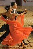2 16 18场比赛舞蹈开放标准 免版税库存图片