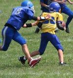 2橄榄球赛 图库摄影