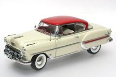2 1953航空贝耳汽车金属缩放比例玩具 库存照片