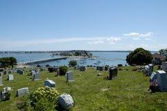 2个墓地船身 免版税库存图片