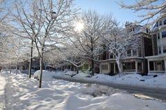 2 2010 śnieg Zdjęcia Royalty Free