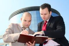 бизнесмены 2 стоковое изображение rf