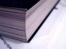 2本书详细资料 免版税图库摄影