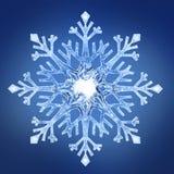 Снежинка 2 Стоковое фото RF