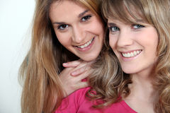 2 сестры Стоковые Фото