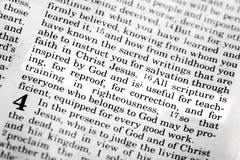 2 3:16 de Timothy Imagenes de archivo