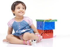 2-3 años del bebé Imagen de archivo libre de regalías