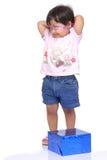 2-3 anos de bebé idoso foto de stock royalty free