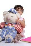 2-3 jaar oud babymeisje Stock Foto's