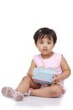 2-3 jaar oud babymeisje Royalty-vrije Stock Foto's