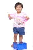 2-3 jaar oud babymeisje Royalty-vrije Stock Foto
