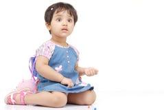 2-3 jaar oud babymeisje Stock Afbeeldingen