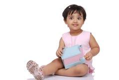 2-3 Jahre alte Baby Lizenzfreie Stockfotos