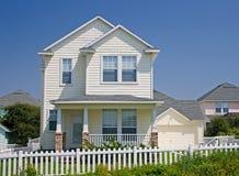 2个村庄佛罗里达家庭样式 免版税库存照片