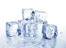 2个多维数据集冰 库存图片