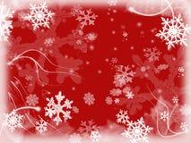 2 снежинки Стоковые Фотографии RF