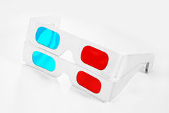 2 3d glasses Royalty Free Stock Photo