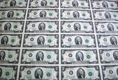 лист 2 доллара 4 счетов Стоковое Изображение RF