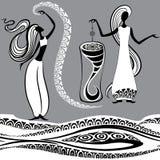 2 ведьмы Стоковая Фотография