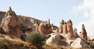 2种形成岩石 图库摄影