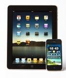 2 4s iphone μήλων ipad Στοκ Εικόνα