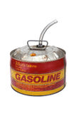 2.5 gallon gas can. With pour spout royalty free stock image