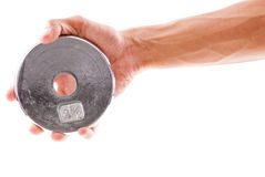 2.5 Pound Weight Royalty Free Stock Photo