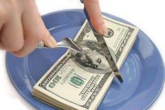 2货币 免版税库存照片