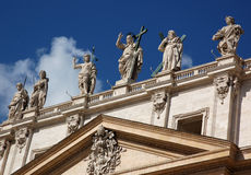 2 Άγιοι Βατικανό πόλεων Στοκ εικόνα με δικαίωμα ελεύθερης χρήσης