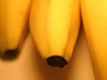 2个背景香蕉 免版税库存图片