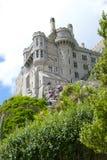 在小山2的城堡 免版税库存照片