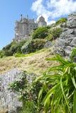 在小山2的城堡 库存照片