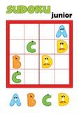 2 80场比赛sudoku 免版税库存图片