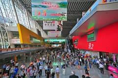 2 9 2011年小行政区入口公平的大厅 免版税库存图片