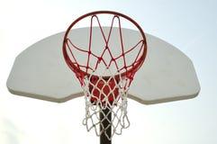 2篮球净额 图库摄影