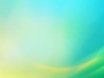 2 abstrakcjonistycznego tła błękitny zieleń Fotografia Stock