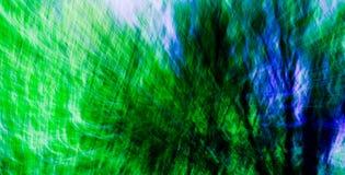 2 abstrakcjonistycznej niebieska związki green Zdjęcia Royalty Free