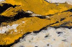 2 abstrakcjonistyczny obraz Zdjęcie Stock